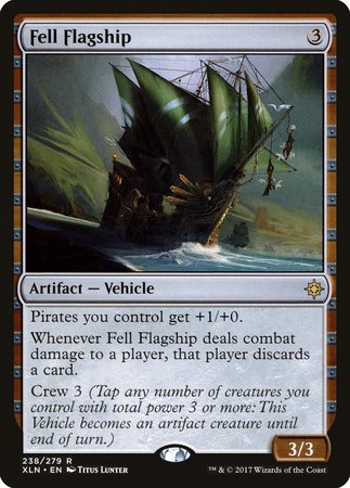 Fell Flagship [Ixalan] | North of Exile Games