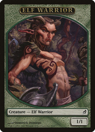 Elf Warrior Token [Lorwyn Tokens] | North of Exile Games