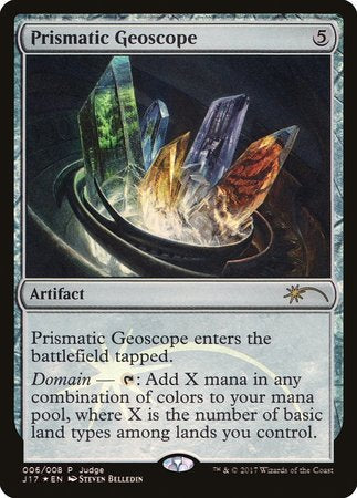 Prismatic Geoscope [Judge Gift Cards 2017] | North of Exile Games