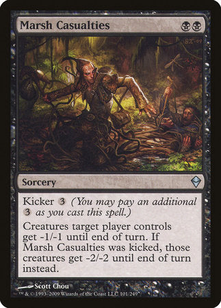 Marsh Casualties [Zendikar] | North of Exile Games