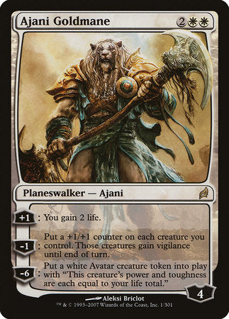 Ajani Goldmane [Lorwyn] | North of Exile Games