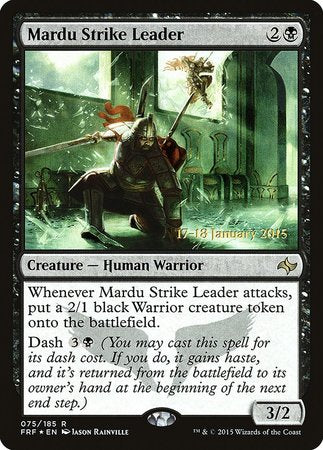 Mardu Strike Leader [Fate Reforged Promos] | North of Exile Games