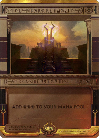 Dark Ritual [Amonkhet Invocations] | North of Exile Games