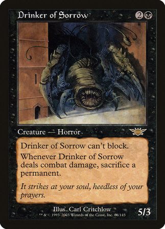 Drinker of Sorrow [Legions] | North of Exile Games