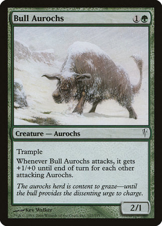 Bull Aurochs [Coldsnap] | North of Exile Games