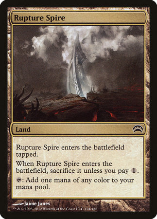 Rupture Spire [Planechase 2012] | North of Exile Games