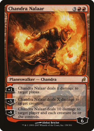 Chandra Nalaar [Lorwyn] | North of Exile Games