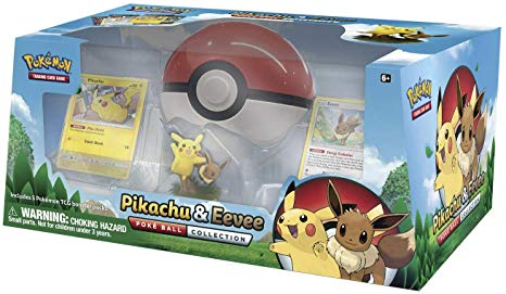 Pikachu & Eevee Poke Ball Collection | North of Exile Games