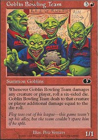 Goblin Bowling Team [Unglued] | North of Exile Games