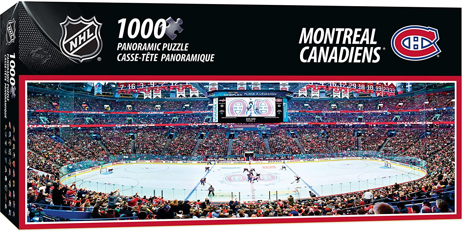 Puzzle - 1000 pcs - NHL Montreal Canadiens panoramic | North of Exile Games
