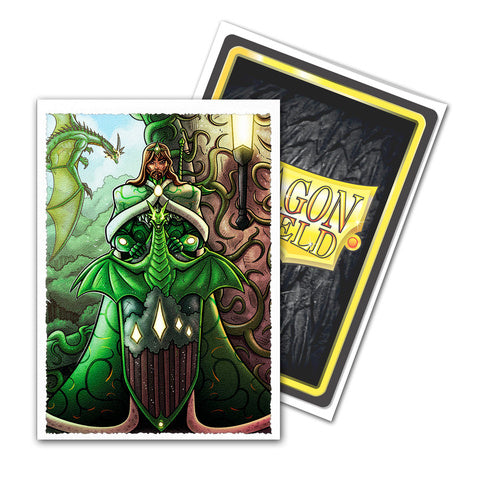 Dragon Shield Sleeves: Matte Art King Mothar Vanguard: Portrait (Box of 100) | North of Exile Games