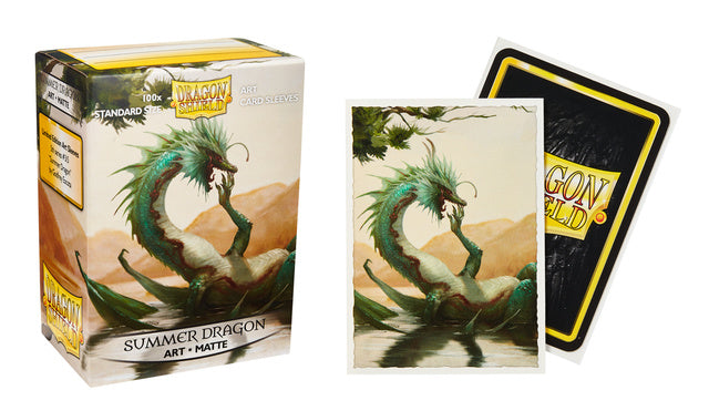 Dragon Shield Summer Dragon Matte Art Sleeves (Box of 100) | North of Exile Games