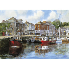 Puzzle - 1000 pcs - Padstow Harbour | North of Exile Games