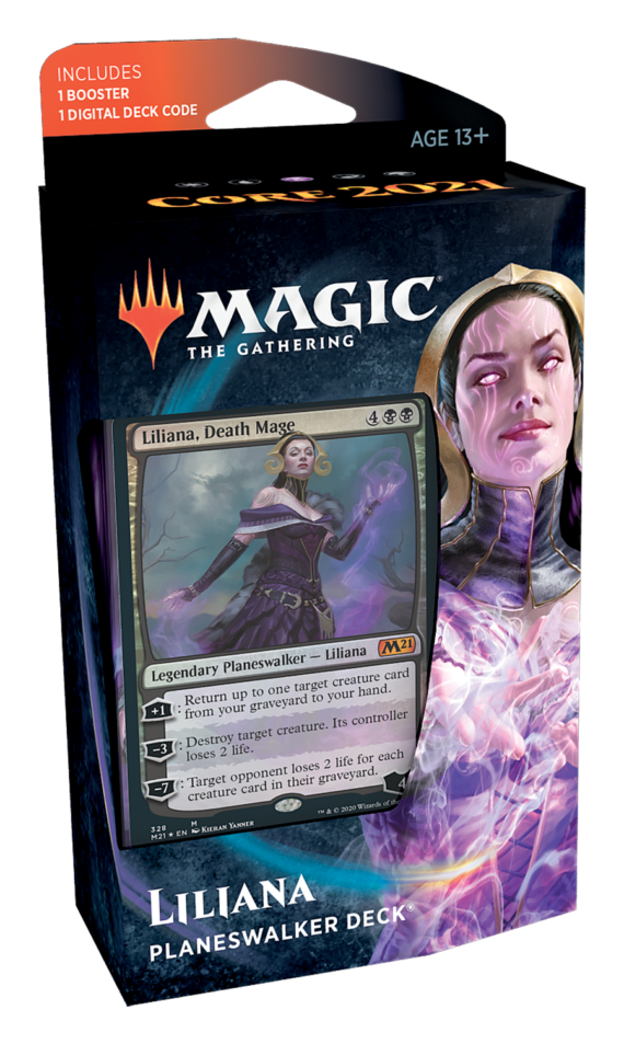 Core Set 2021 Planeswalker Deck - Liliana | North of Exile Games