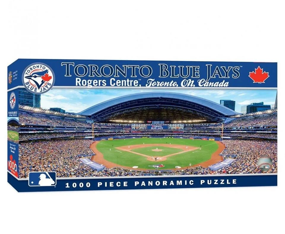 Puzzle - 1000 pcs - MLB Toronto Blue Jays panoramic | North of Exile Games