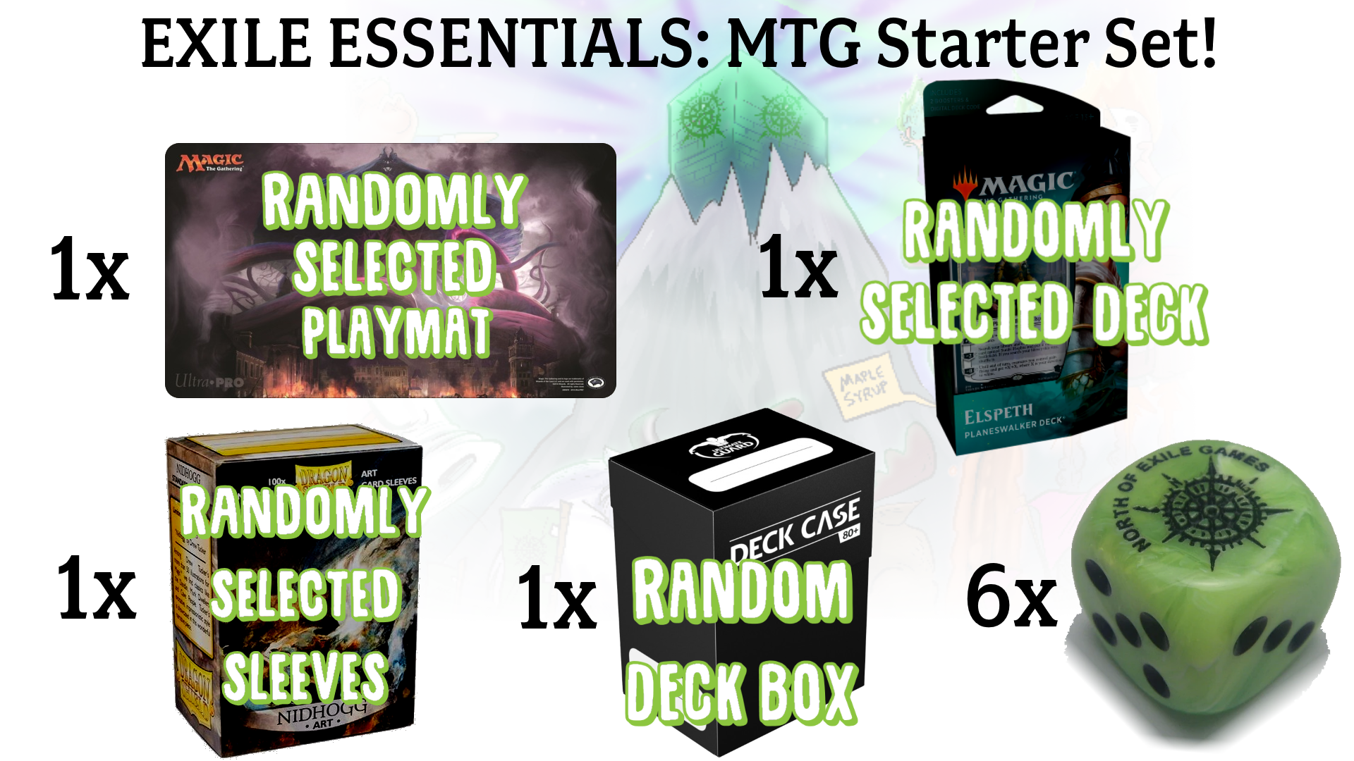 Exile Essentials Magic: The Gathering Starter Kit | North of Exile Games