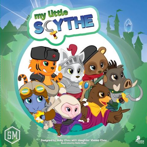 My Little Scythe | North of Exile Games