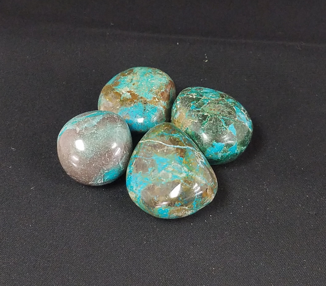 Chrysacolla Tumbled