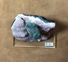 Load image into Gallery viewer, Apophyllite on Pink Apophyllite