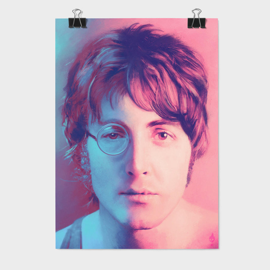 Lennon & McCartney Art Print – Come Together | Shop Now | TINYRIOT