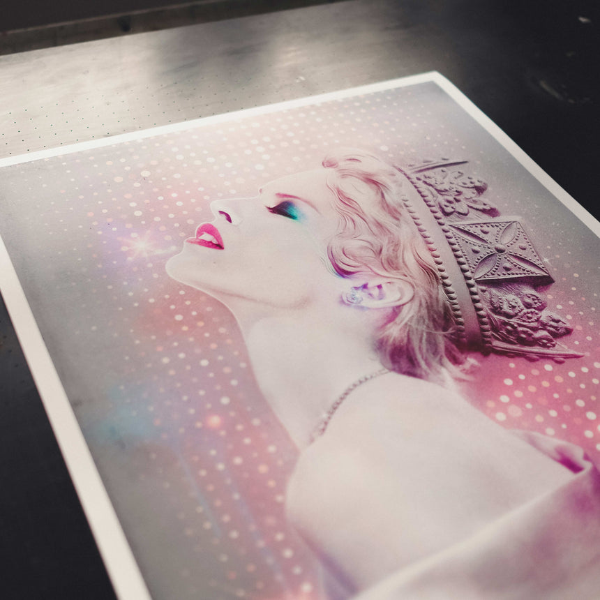 Kylie Art Print – Disco Queen | Shop Now | TINY RIOT