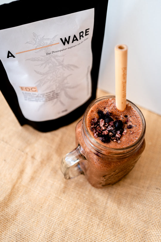 Rezept: Quick Chocolate Protein Smoothie