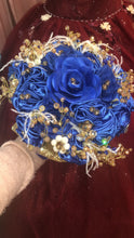 Load image into Gallery viewer, Satin Jewel Bouquet