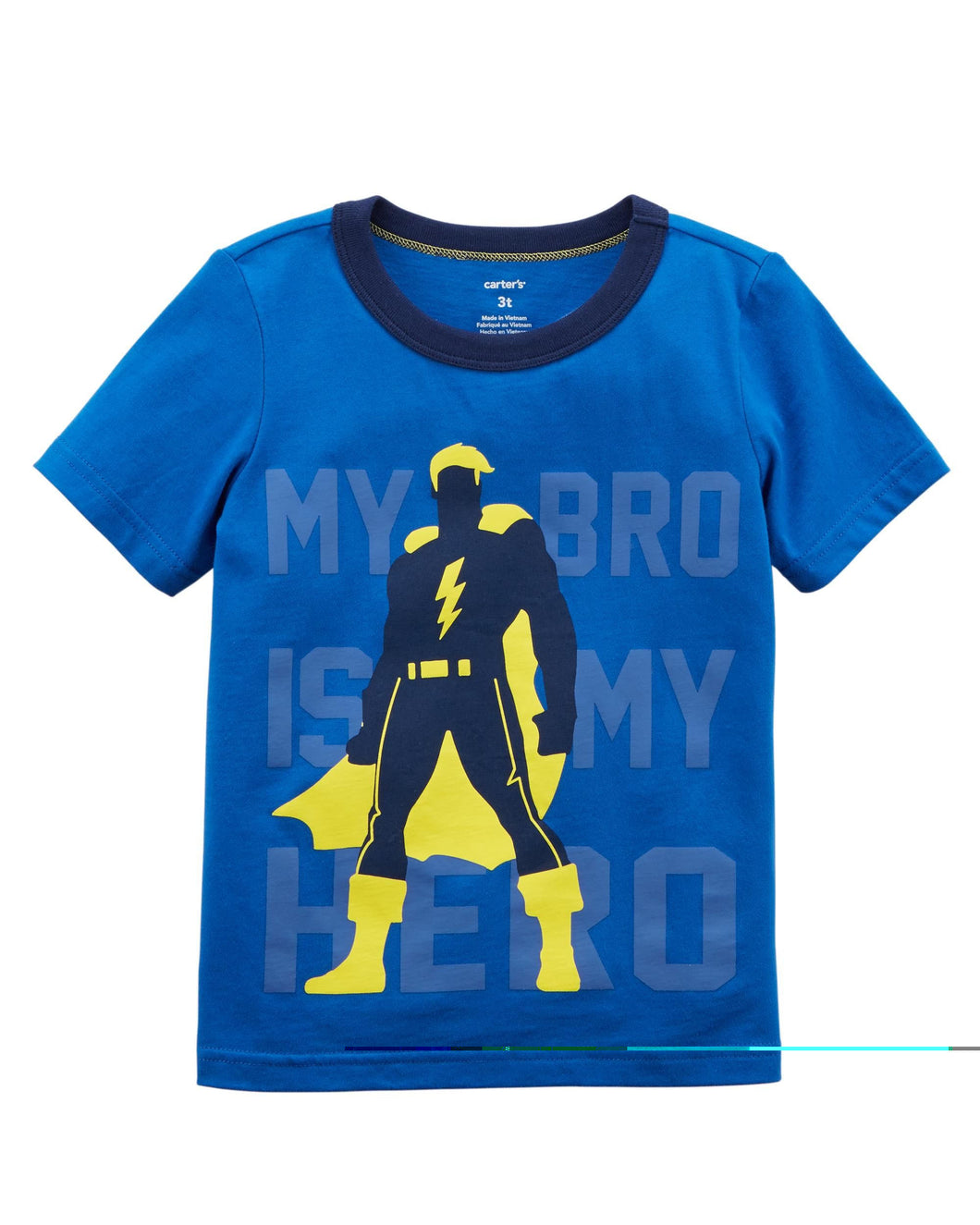 Bro Is My Hero Lightweight Jersey Tee