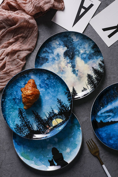 Van Gogh Plate Collection | Fine Bone China