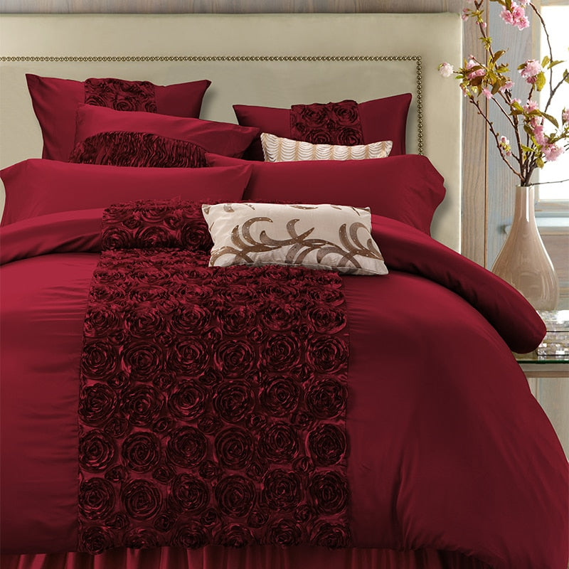 Rose Royale Duvet Cover Set