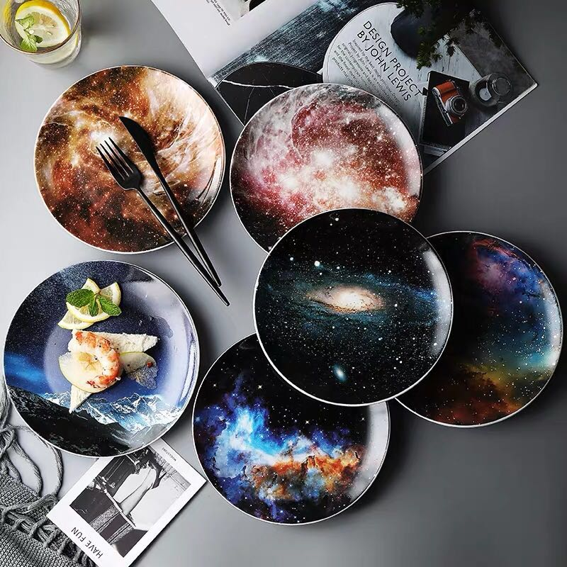 Cosmos Plate Collection