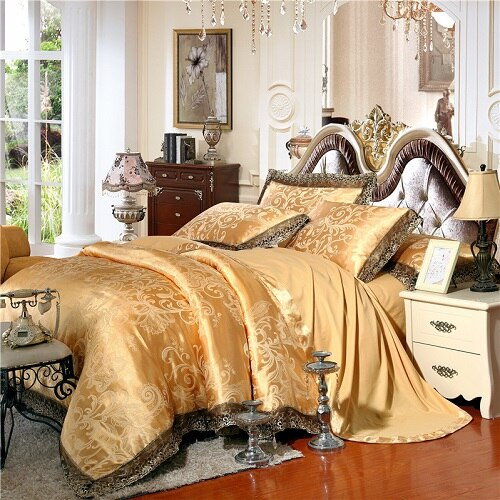 Midas Bedding Set (Luxury Silk)