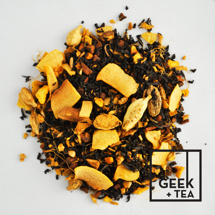 Spiced Plum | Organic Loose Leaf Black Tea | Spices and Berries