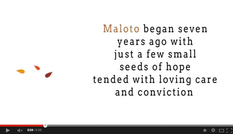Animated video for Maloto