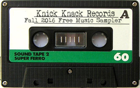 Free Music - Knick Knack Records Fall 2016 Digital Sampler
