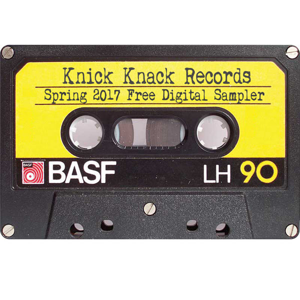 Knick Knack Records Spring 2017 Free Digital Sampler