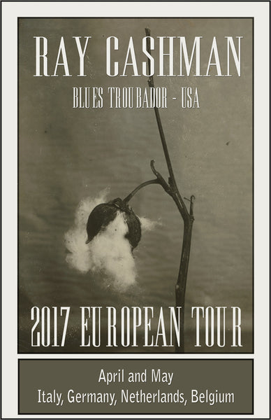 Ray Cashman Spring 2017 European Tour