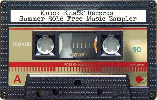 Free Music - Knick Knack Records Summer 2016 Digital Sampler