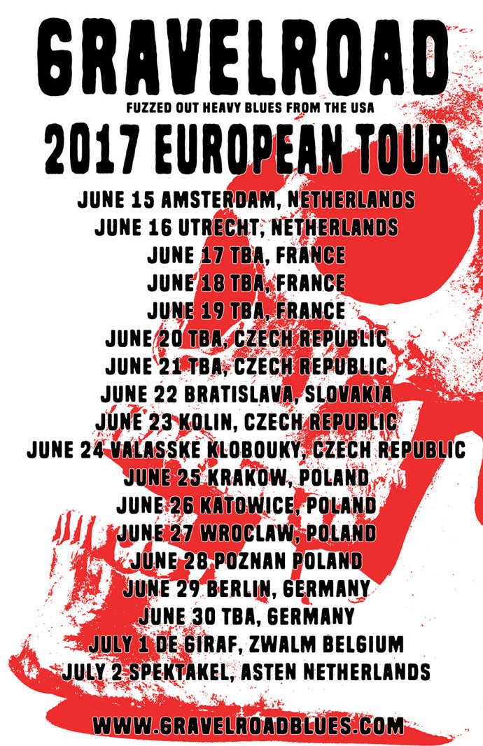GravelRoad 2017 European Tour
