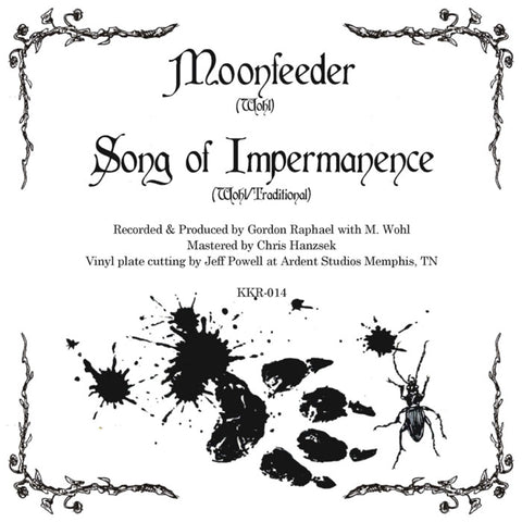 Michael Wohl, Moonfeeder, Song of Impermanence, Knick Knack Records