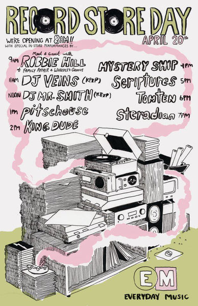 Record Store Day Everyday Music