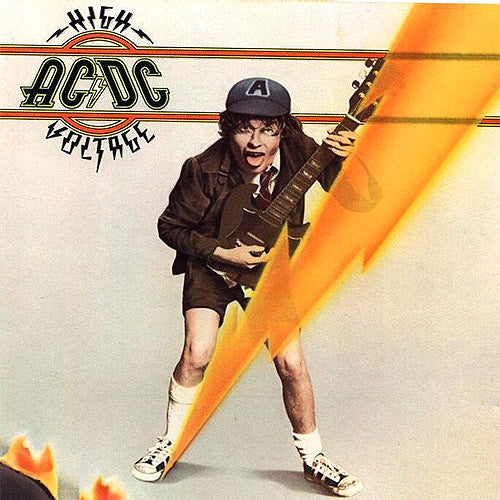 AC/DC High Voltage 12 inch 33 rpm LP pressed on 180 gram vinyl