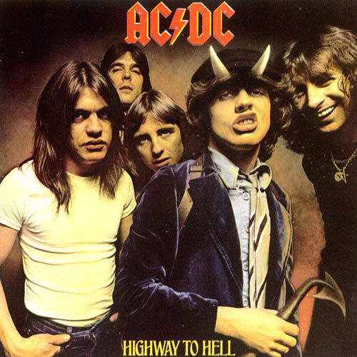 AC/DC Highway To Hell 12 inch 33 rpm LP pressed on 180 gram vinyl