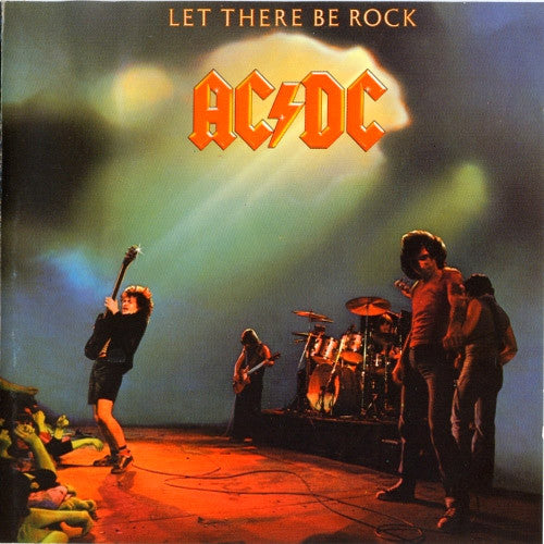 AC/DC Let There Be Rock - compact disc