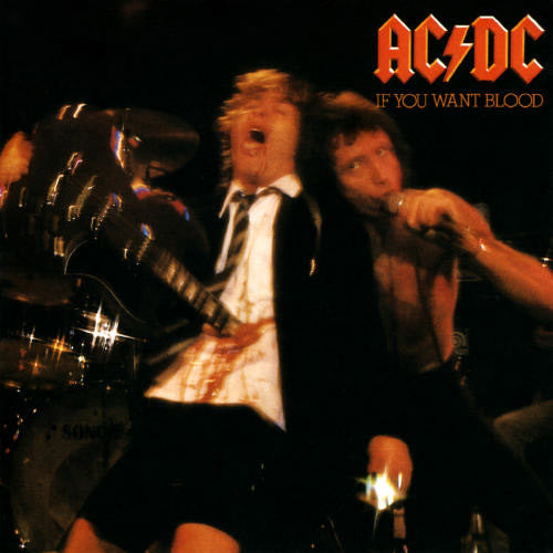 AC/DC If You Want Blood - vinyl LP