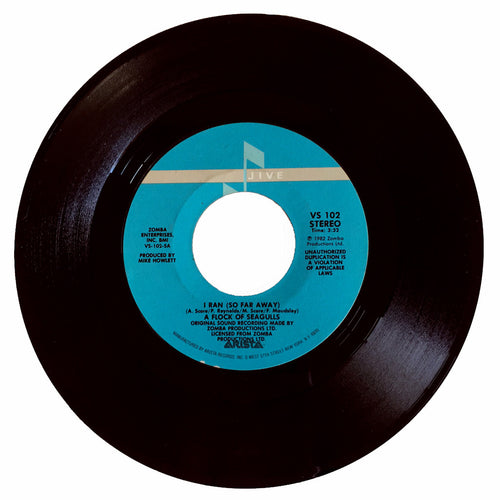 A Flock Of Seagulls I Ran (So Far Away) / Pick Me Up - 7 inch