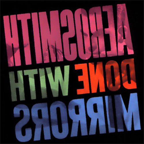 Aerosmith Done With Mirrors - vinyl LP