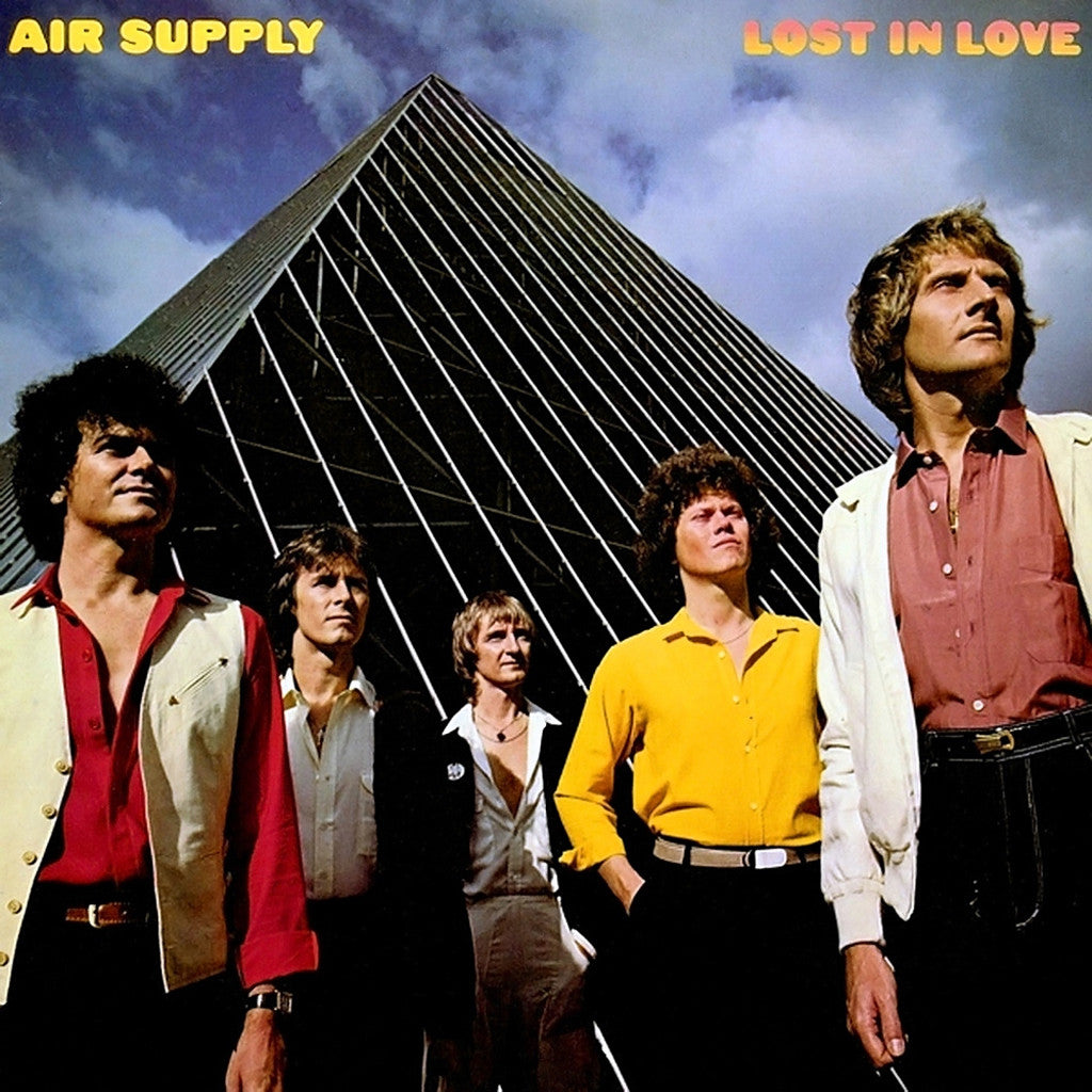 Air Supply Lost In Love - vinyl LP