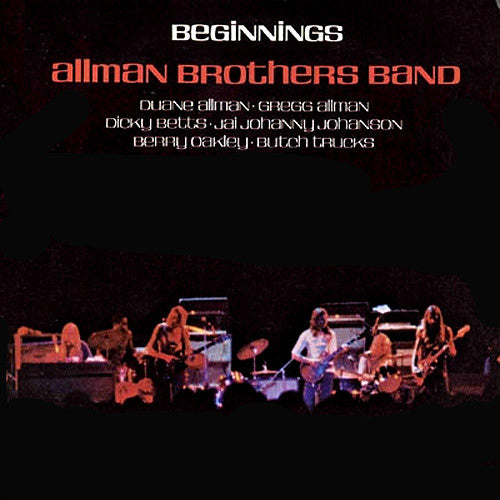 Allman Brothers Band Beginings - vinyl LP