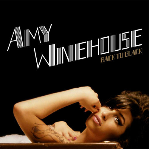 Amy Winehouse Back To Black - vinyl LP